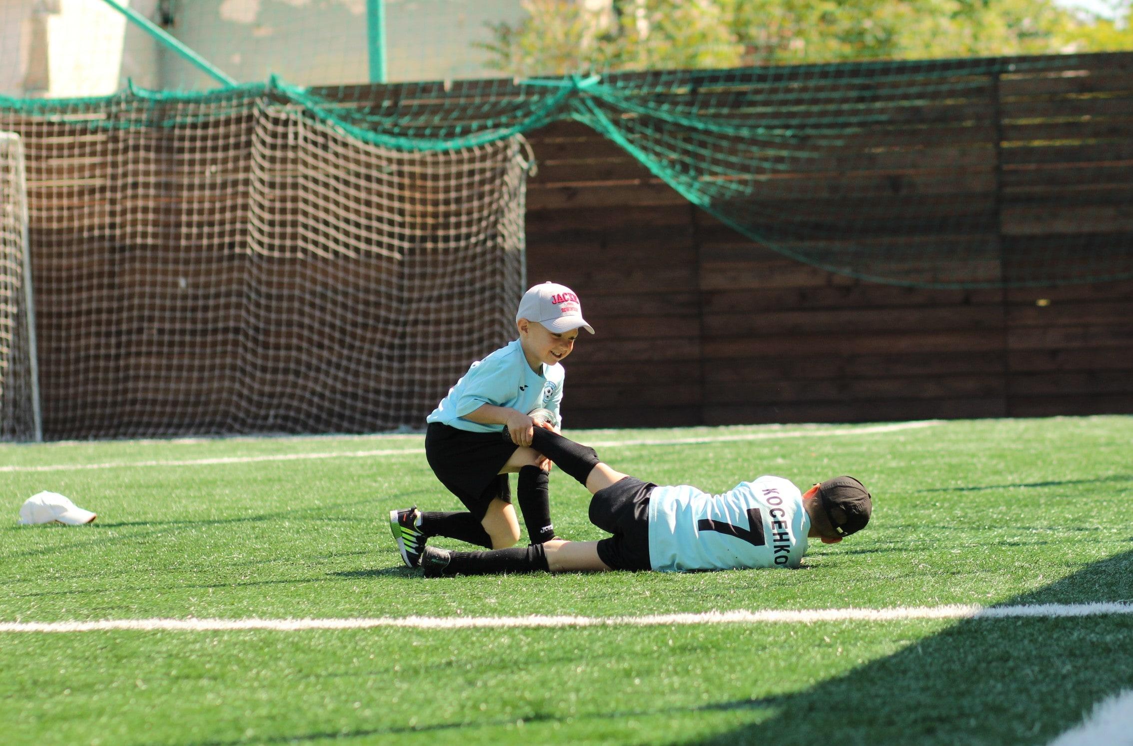 Фото детей из ДК Спортивное поколение